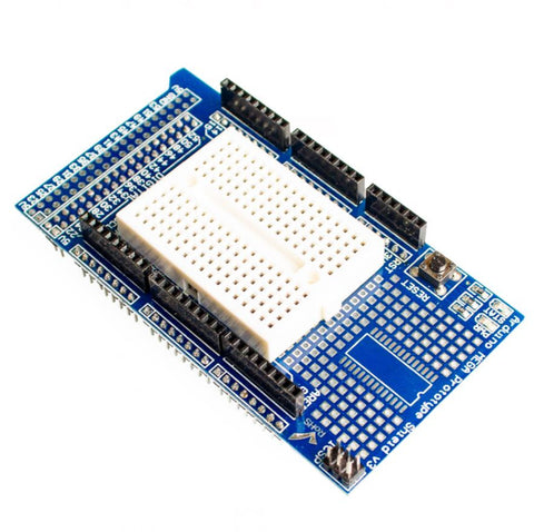 Arduino MEGA Protoshield with Breadboard V3 - Connected Cities