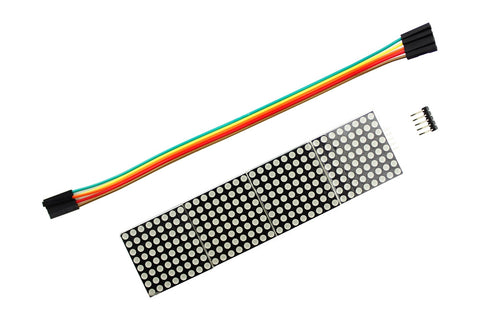MAX7219 Dot Matrix Module for Arduino Microcontroller - Connected Cities