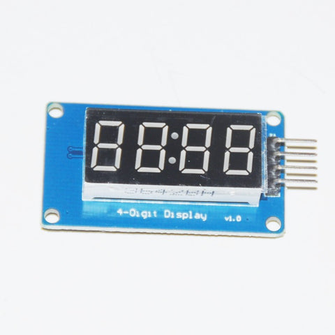 4 Bits Digital Tube LED Display Module with clock display board  for Arduino & Raspberry PI - Connected Cities