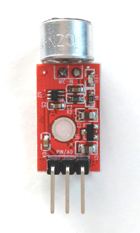 MAX9812 Microphone Voice Module for Arduino - Connected Cities