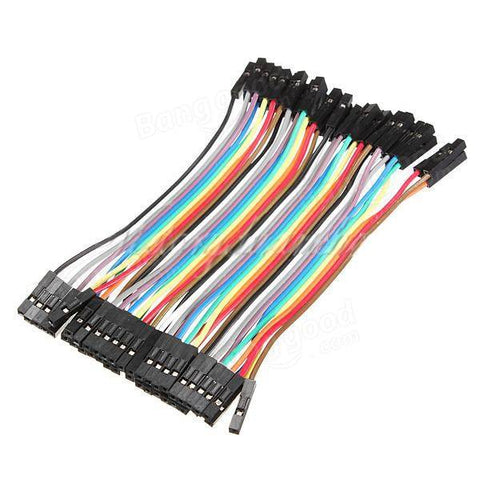 10 cm Jumper Cable Female to Female (5pins per pack)