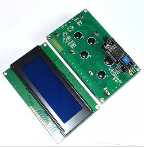 LCD 20X4 Character  with IIC/I2C Module - Connected Cities