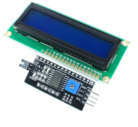 1602 LCD with IIC/12C Module - Connected Cities