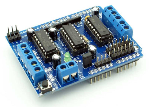 L293D Motor Control Shield - Connected Cities