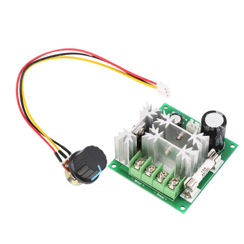 DC 6V-90V 15A DC Motor Speed Controller - Connected Cities