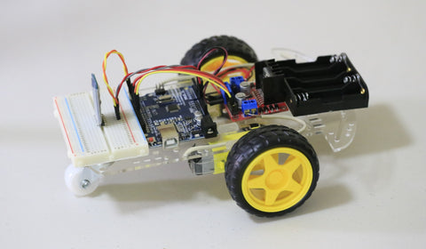 2WD Smart Robot Car Chassis DIY - Bluetooth Kit - Connected Cities