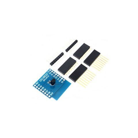 DS18B20 Shield for Wemos D1 mini - Connected Cities
