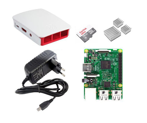 Raspberrry Pi 3 Model B Essential Kit - Connected Cities