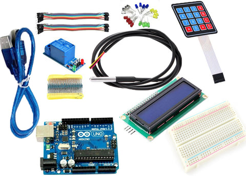 Arduino Temperature Kit (Incubator Set) - Connected Cities