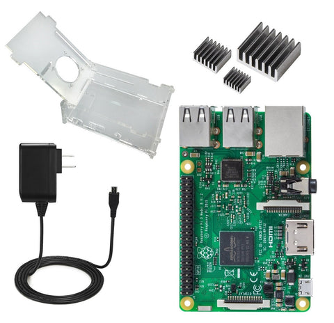Raspberry Pi 3 Model B Kit - Connected Cities