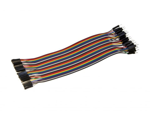 10 cm Jumper Cable Male to Female (5pins per pack) - Connected Cities