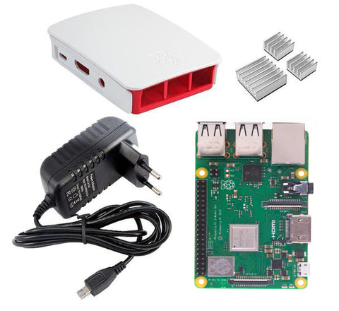 Raspberrry Pi 3 Model B+ Kit - Connected Cities