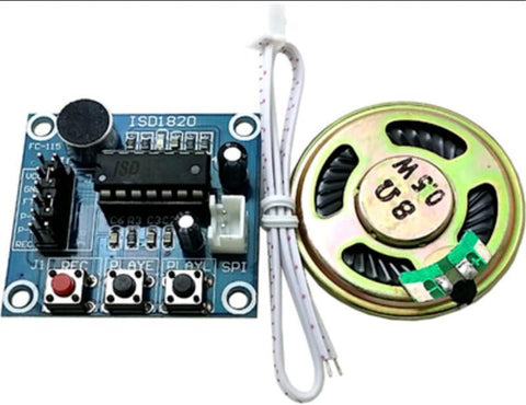 ISD1820 Voice Recorder Module with Mic Sound - Connected Cities