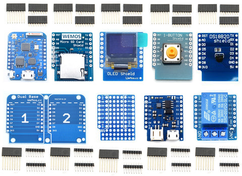 Wemos D1 Mini Pro ESP8266 Package Set