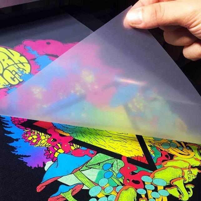 Digital Heat Transfer 8 x 11DTF Transfer Film Sheet A3 (11-3/4 x 16-1/2) - Printed with Your Design or Gang Designs