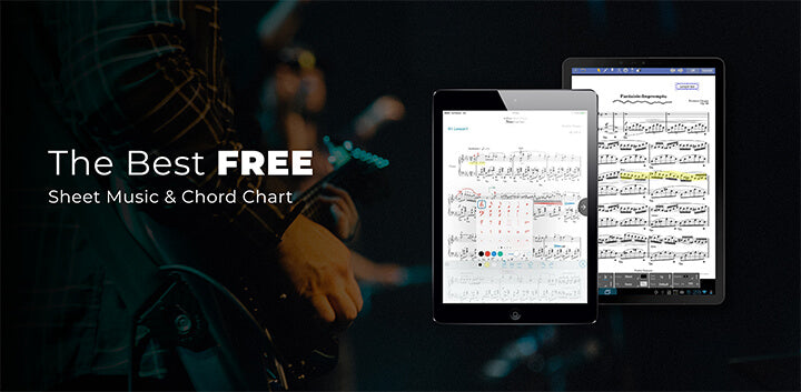 the best free paperless digital sheet music chord chart apps