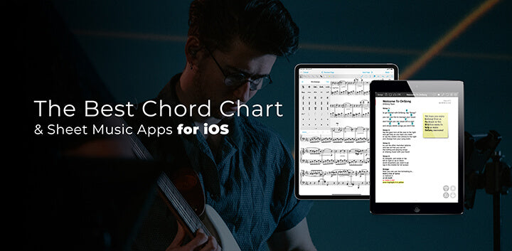 the best sheet music chord chart apps for ios ipad iphone mac