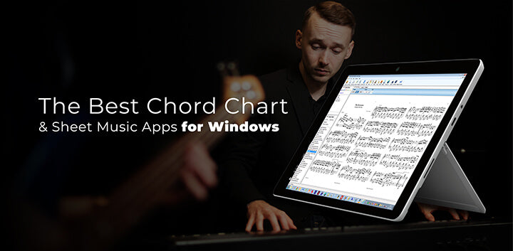 the best sheet music chord chart apps for windows surface tablet