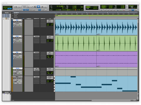 using pro tools with Stomp Bluettoth pedal