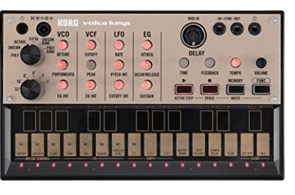 Gift Guide for Keyboard Players Kord digital Fm synthesizer VOLVAKEYS