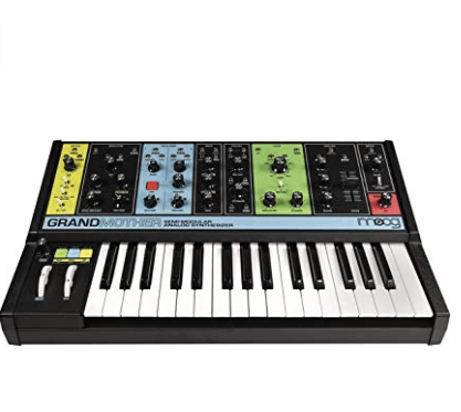 Gift Guide for Keyboard Players Moog grandmother analog synth