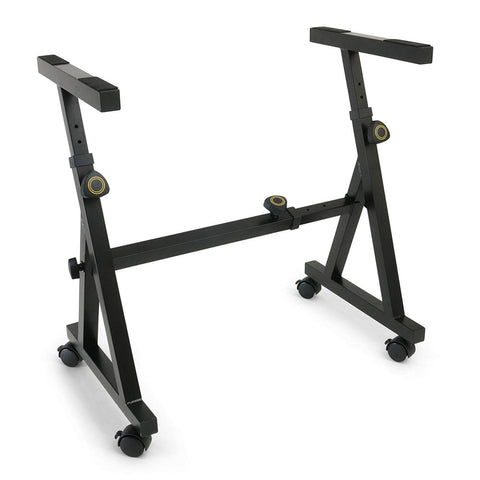 Gift Guide for Keyboard Player Plixio Keyboard Stand w/Wheels