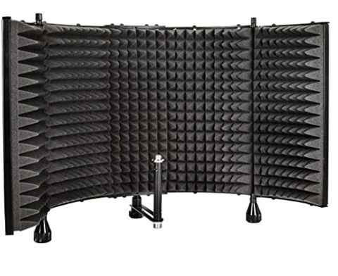 Microphone Isolation Shield The Best Microphone Setup For Podcasting, Broadcasting, And Livestreaming