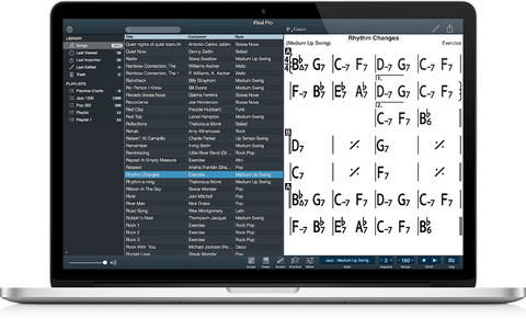 iReal pro app The Best Chord Chart And Sheet Music Apps for Apple Mac OS