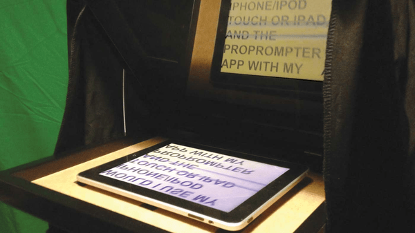 iPad How to Use Your Tablet or Phone As a Teleprompter