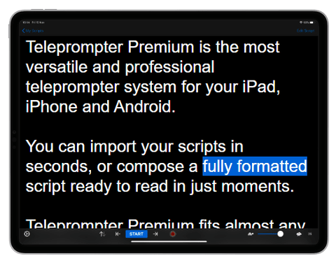 Teleprompter Premium app Best Teleprompter Apps for iOS and Android