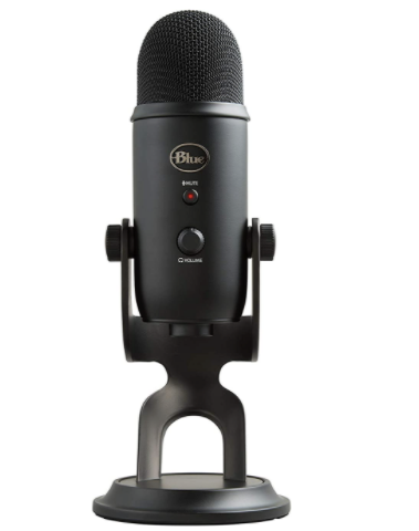 Blue Yeti USB Microphone The Best Microphone Setup For Podcasting, Broadcasting, And Livestreaming
