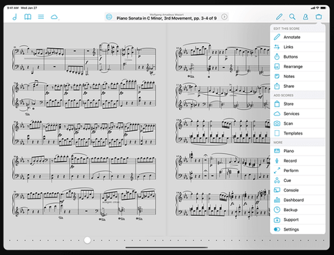 ForScore app Best Sheet Music Apps for Classical Musicians