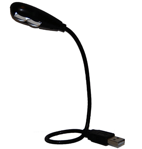 Gift Guide for Keyboard Players USb powered reading light