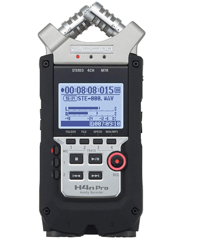 Gift Guide for the Gigging Musician Zoom H4N PRO Digital Multitrack Recorder