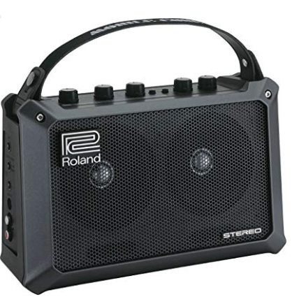 Gift Guide for Keyboard Players roland mobile Cube portable keyboard amp