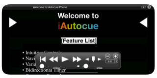 iAutocue Best Teleprompter Apps for iOS and Android