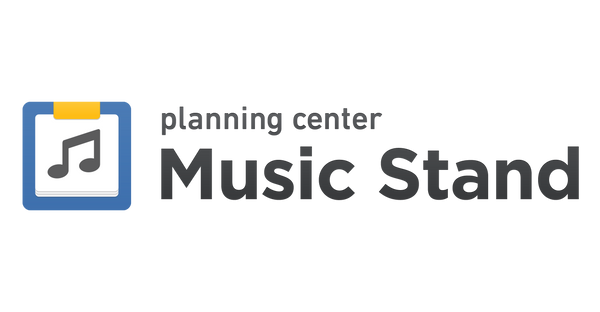 planning center music stand sheet music chord chart reader worship music stomp app tutorial
