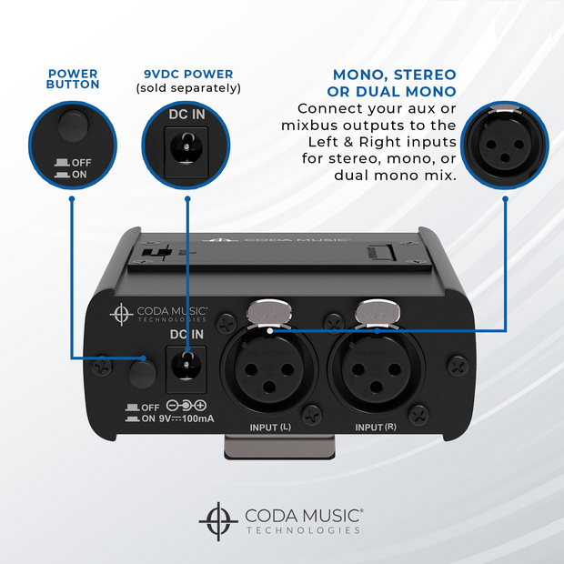 Wired In Ear Monitor System / Headphone Amplifier