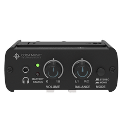 coda music technologies wired iem stereo in ear monitor system product manual
