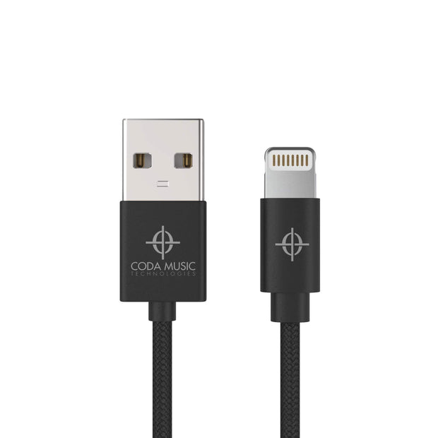Coda Music Technologies 6' Foot Apple iOS USB Lightning Charging Cable