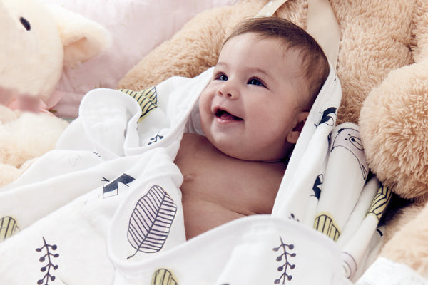 100 organic muslin blanket for babies toddlers four layers of certified organic cotton