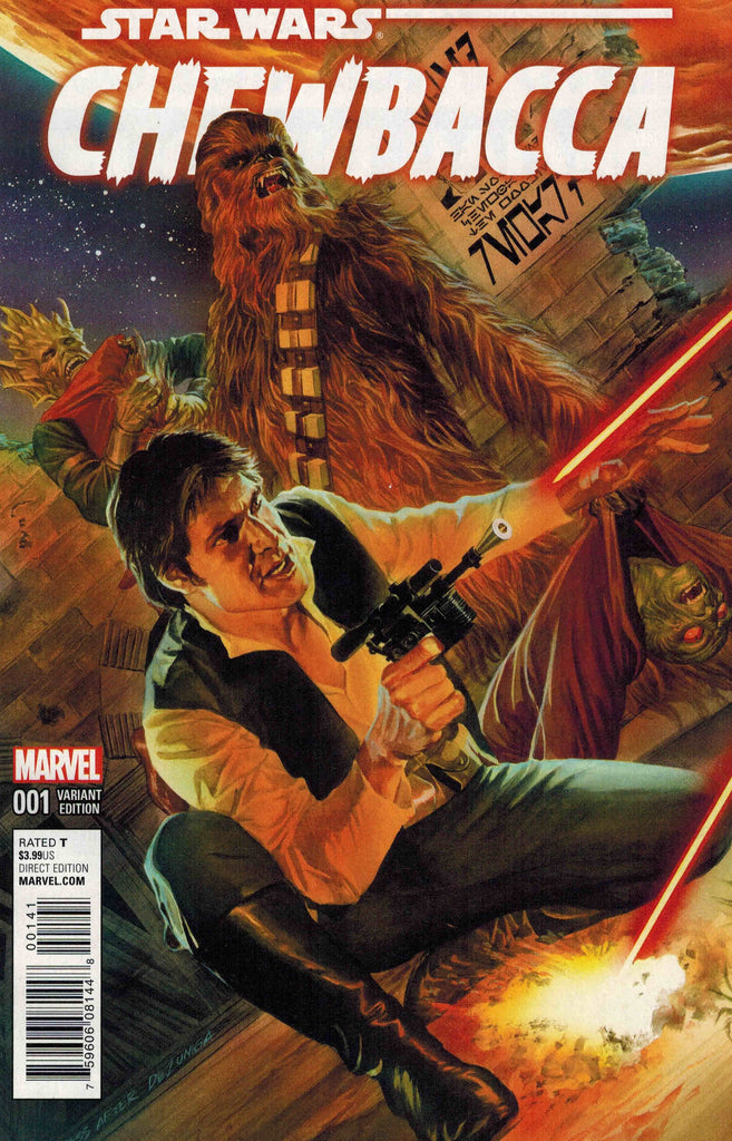 Star Wars - Chewbacca (Vol 1 2015) #1 CVR D Alex Ross Variant