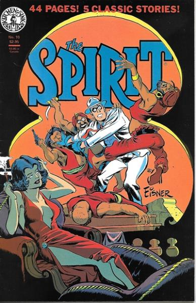 Spirit, The (Vol 1 1982) #10 CVR A