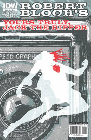 Yours Truly, Jack the Ripper (Vol 1 2010) #1 CVR A Advance Copy with Silver Sticker
