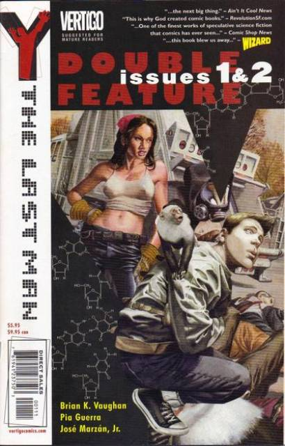 Y: The Last Man Double Feature (Vol 1 2002) #1 & 2 CVR A
