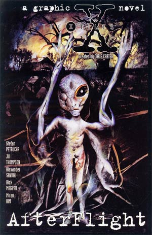 X-Files: Afterflight (Vol 1 1997) #1 CVR A