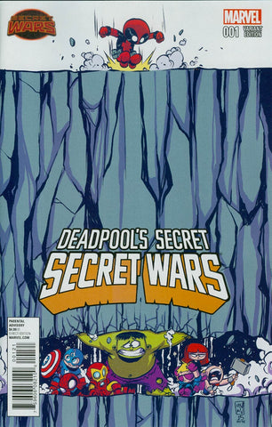 Deadpool's Secret Secret Wars #1 Skottie Young Variant