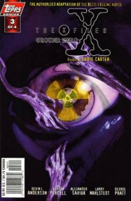 X-Files Ground Zero (Vol 1 1998) #3 CVR A