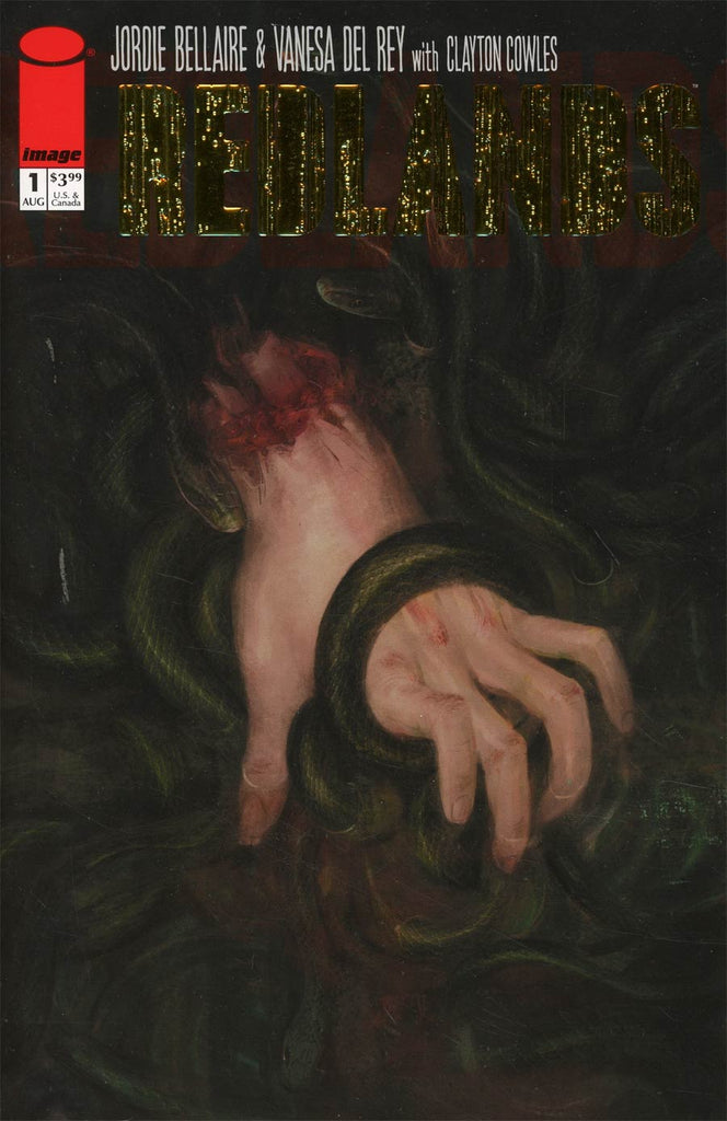 Redlands #1 One Per Store Gold Stamped Retailer Appreciation Variant