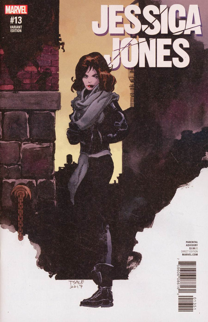 Jessica Jones #13 1/25 Tim Sale Variant